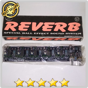 Harga kit super digital effect echo reverb hall sound system 5 ic efek | HARGALOKA.COM