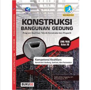 Harga buku konstruksi bangunan gedung   program keahlian kelas   HARGALOKA.COM