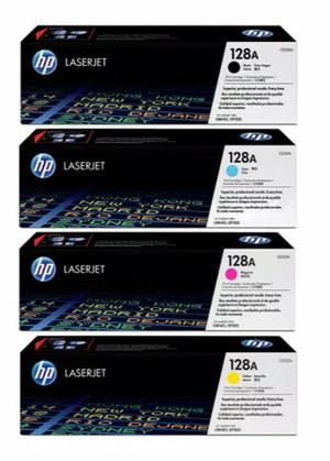 Harga toner hp laserjet 128a original 100 b c y m harga ini untuk 1 | HARGALOKA.COM
