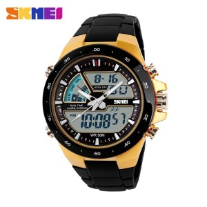 Harga jam tangan pria skmei 1016 digital analog sporty casual anti air   | HARGALOKA.COM