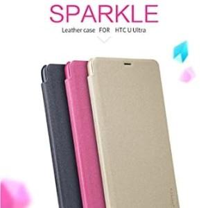 Harga flipcase flipcover nillkin sparkle leather case htc u | HARGALOKA.COM