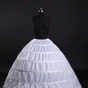Harga petticoat 6 ring ballgown pengembang baju pengantin 6 hoops | HARGALOKA.COM