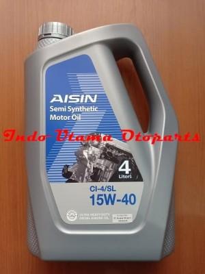 Harga oli aisin semi synthetic cl 4 sl 15w 40 4ltr diesel | HARGALOKA.COM