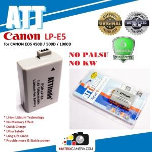 Harga att battery canon lp e5 baterai batere for eos 450d 500d 1000d | HARGALOKA.COM