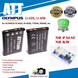 Harga att battery olympus li 42b baterai batere for fe 4010 fe 4030 | HARGALOKA.COM