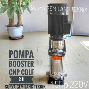 Harga pompa cnp cdlf 2 11 mesin steam motor dan steam mobil pompa booster   HARGALOKA.COM