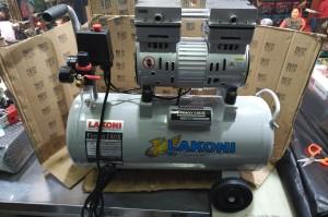 Harga mesin kompresor pompa pumpa angin oilless silent 1hp lakoni | HARGALOKA.COM