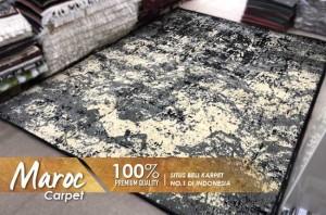 Harga maroc karpet 15 black | HARGALOKA.COM