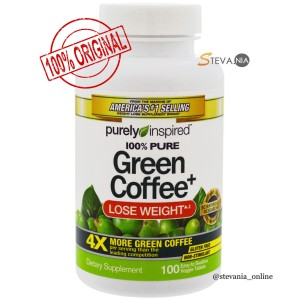 Harga purely inspired green coffee lose weight 100 veggie tablets | HARGALOKA.COM