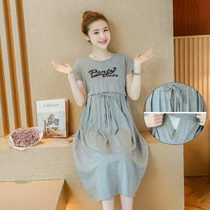 Harga dress hamil dan menyusui dhm108   | HARGALOKA.COM