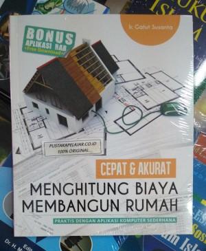 Harga buku cepat amp akurat menghitung biaya membangun rumah ir gatut | HARGALOKA.COM