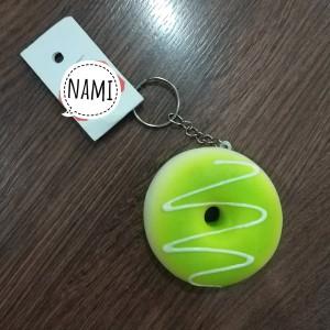 Harga gantungan kunci squishy donat lucu selai tas gemas murah bagus | HARGALOKA.COM