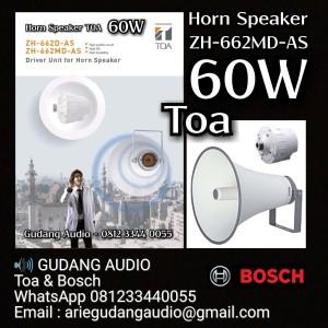Harga horn speaker toa zh 662 t md as 60 watt trafo | HARGALOKA.COM