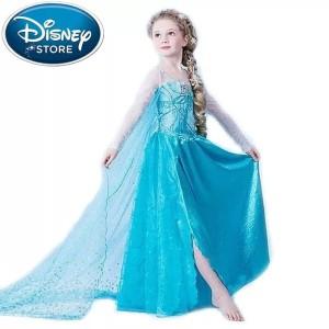 Harga baju elsa frozen kostum elsa frozen ulang tahun anak import 331   3 4 | HARGALOKA.COM