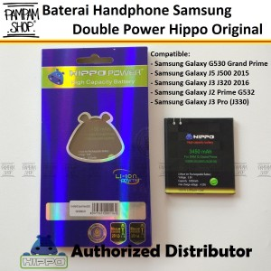 Harga baterai hippo double power original samsung galaxy j5 2015 j500 | HARGALOKA.COM