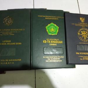 Harga map ijazah k13 f4 tk sd smp dll hardcover hotprint emas isi 10 | HARGALOKA.COM