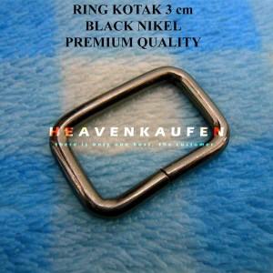 Harga Ring Kotak 4 Cm Black Bukan Black Nickel Katalog.or.id