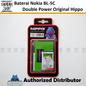 Harga baterai hippo double power original nokia bl 5c bl5c batre batrai | HARGALOKA.COM