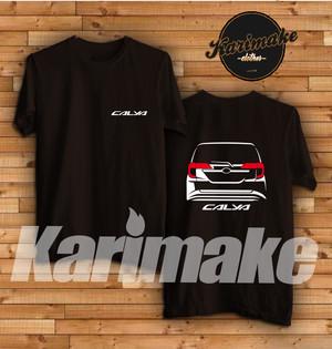 Harga kaos mobil toyota calya rear kaos otomotif | HARGALOKA.COM