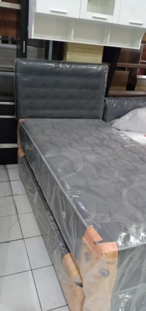 Harga kasur tingkat springbed 2 in 1 central deluxe 100 sandaran | HARGALOKA.COM