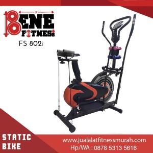 Harga sepeda statis alat fitness fs 802i orbitrek 6f olahraga fitnes | HARGALOKA.COM