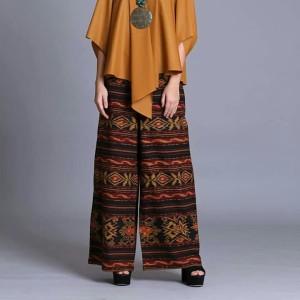 Harga celana kulot tenun troso kain blangket tenun etnic blangket | HARGALOKA.COM