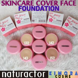 Harga naturactor skincare cover face foundation original japan     HARGALOKA.COM