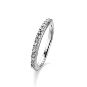 Harga eternity diamond ring   pb0537   cincin berlian   white gold | HARGALOKA.COM