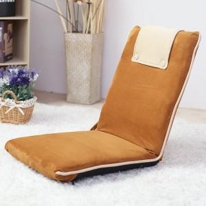 Harga kursi lipat lesehan lantai folding chair kecil murah empuk meja laptop   cokelat   HARGALOKA.COM
