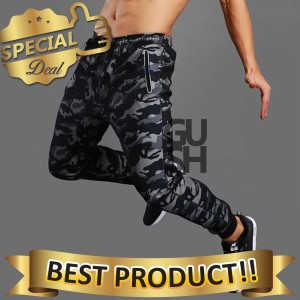 Harga celana jogger pria motif | HARGALOKA.COM