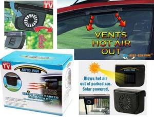 Harga kipas exhaust mobil tenaga surya membantu mengeluarkan udara | HARGALOKA.COM