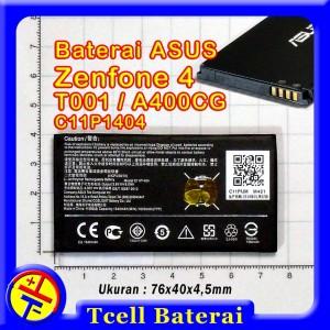 Harga baterai asus zenfone 4 t001 a400cg c11p1404 batre battery | HARGALOKA.COM