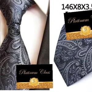 Harga dasi pria import abu grey batik platinum | HARGALOKA.COM