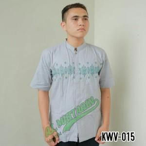Harga baju muslim pria baju koko pasar tasik tanah abang jakarta kwv 015   perak   HARGALOKA.COM
