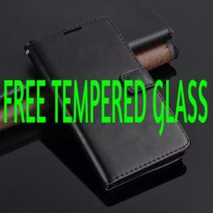 Harga case lenovo vibe k4 note x3 lite a7010 leather flipcover wallet casing   | HARGALOKA.COM