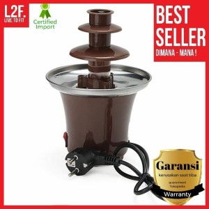 Harga mesin mini coklat air mancur original chocolate fondue mountain | HARGALOKA.COM