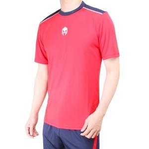 Harga baju futsal baju olahraga bola jersey mills code 1005 red   merah | HARGALOKA.COM