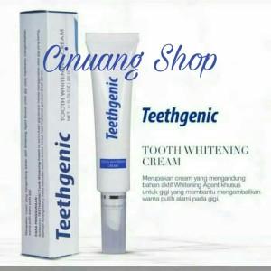 Harga Teethgenic Tooth Whitening Cream By Ertos Cream Pemutih Gigi Katalog.or.id