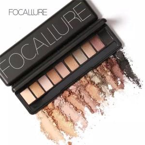 Harga naked eyeshadow palette focallure 10 color   no | HARGALOKA.COM