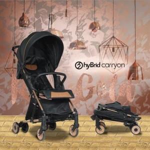 Harga hybrid carry on stroller black kereta dorong bayi | HARGALOKA.COM