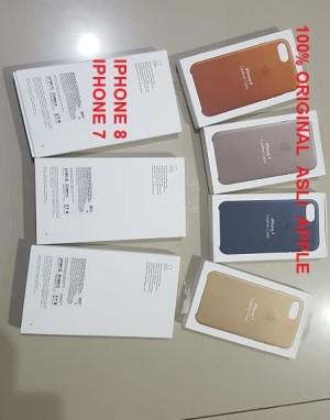 Harga apple leather case iphone 8 or iphone 7 original 100 promo price   | HARGALOKA.COM