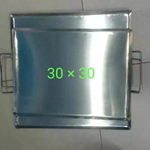 Harga wajan plat persegi ukuran 30 30 untuk roti bakar kebab | HARGALOKA.COM