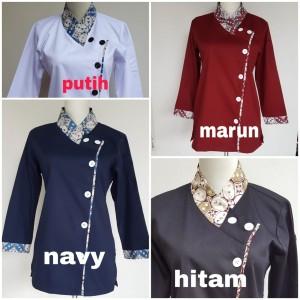 Harga baju chef kombinasi batik untuk | HARGALOKA.COM