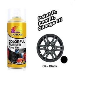 Katalog Carlas Rubber Paint Black C4 Hitam Doff Katalog.or.id