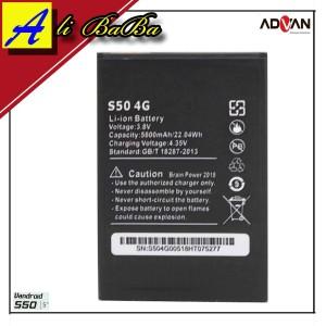 Harga baterai handphone advan s50 4g lte double power advan s50 batre hp | HARGALOKA.COM