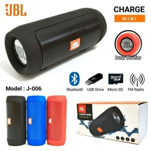 Harga portable speaker bluetooth music box jbl wireless charge mini j006   | HARGALOKA.COM
