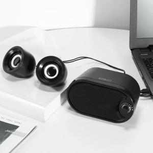 Harga robot speaker portable rs170 for pc laptop amp smart phone | HARGALOKA.COM
