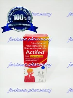 Harga actifed merah untuk batuk kering dan pilek obat batuk   HARGALOKA.COM