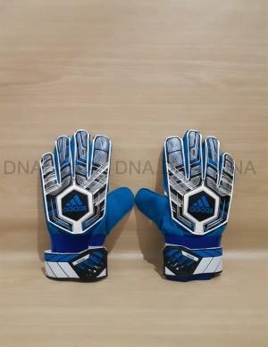 Harga sarung tangan kiper adidas finger save 917   black blue tulang | HARGALOKA.COM