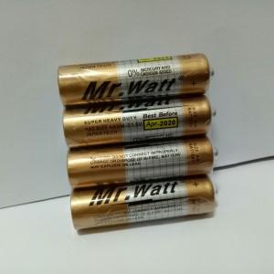 Harga baterai aa battery mr watt 1 pack 4 pcs japan tech super heavy | HARGALOKA.COM